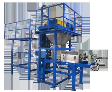 shredder&dewatering-screw-press AIO(All In One Machine)