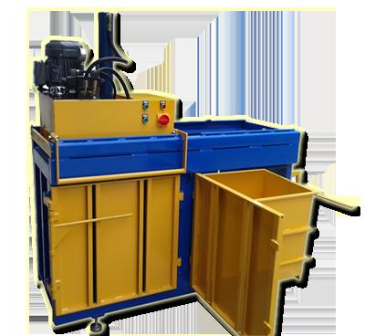 Vertical Hydraulic Baler