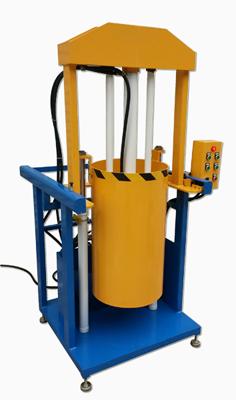 Vertical Hydraulic Baler model PM800