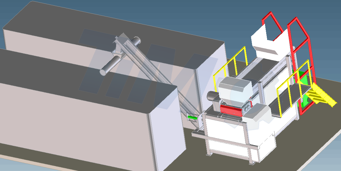 organic & food waste composting system
