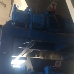 Two Stages Shredding Medical Waste Shredder