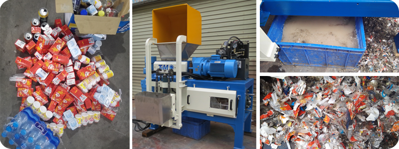 Expired-Foodstuff-Shredding-And-Dewatering