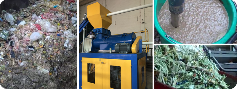 MSW-Shredding-And-Grinding-separation
